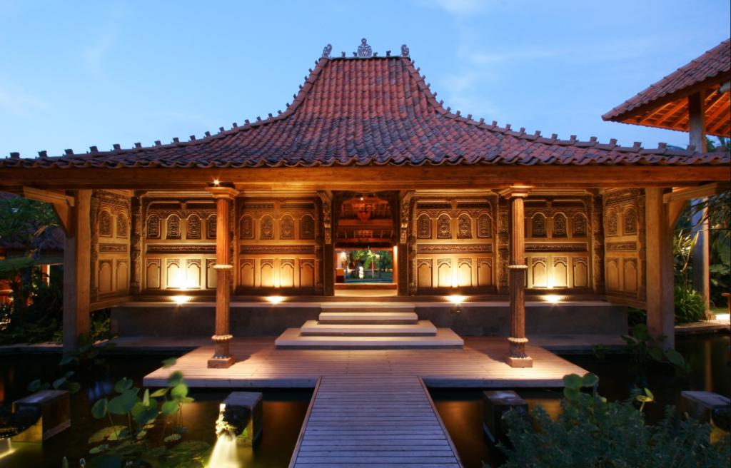 Rumah Kayu Joglo Klasik